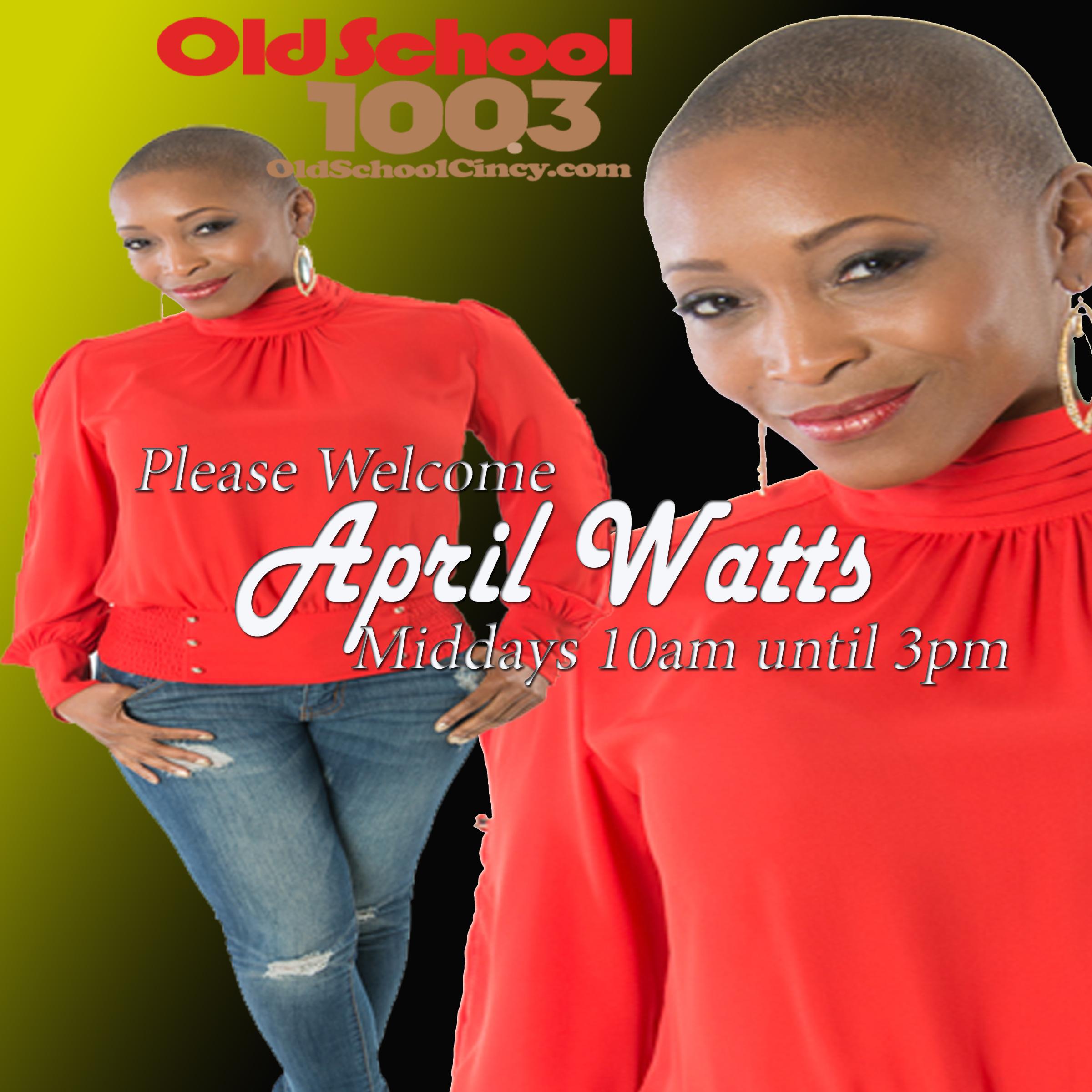 April Watts Old School Host