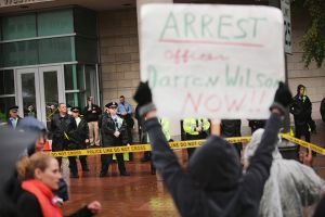 Ferguson Protests Continue Two Months After Police Shooting Of Michael Brown