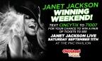 Janet Jackson Winning Weekend!