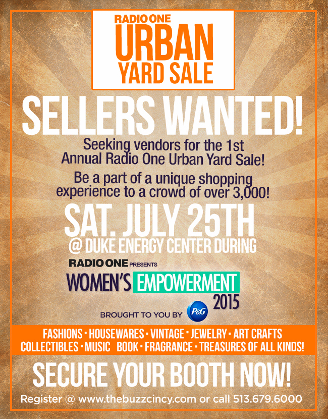 Radio One Urban Yard Sale