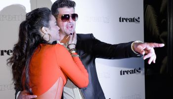 Robin Thicke's Album Release Party