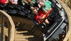 Terminator Salvation: The Ride Media Day At Six Flags Magic Mountain