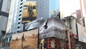 Times Square Celebrates Jessica Simpson's Business Brand 10 Year Anniversary
