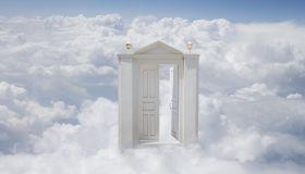 Heaven's gate (digital composite)