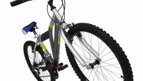 Close up of a mountain bike