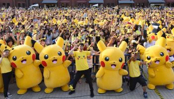 JAPAN-LIFESTYLE-ENTERTAINMENT-POKEMON