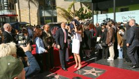 Donald Trump Honored With a Star on the Hollywood Walk of Fame