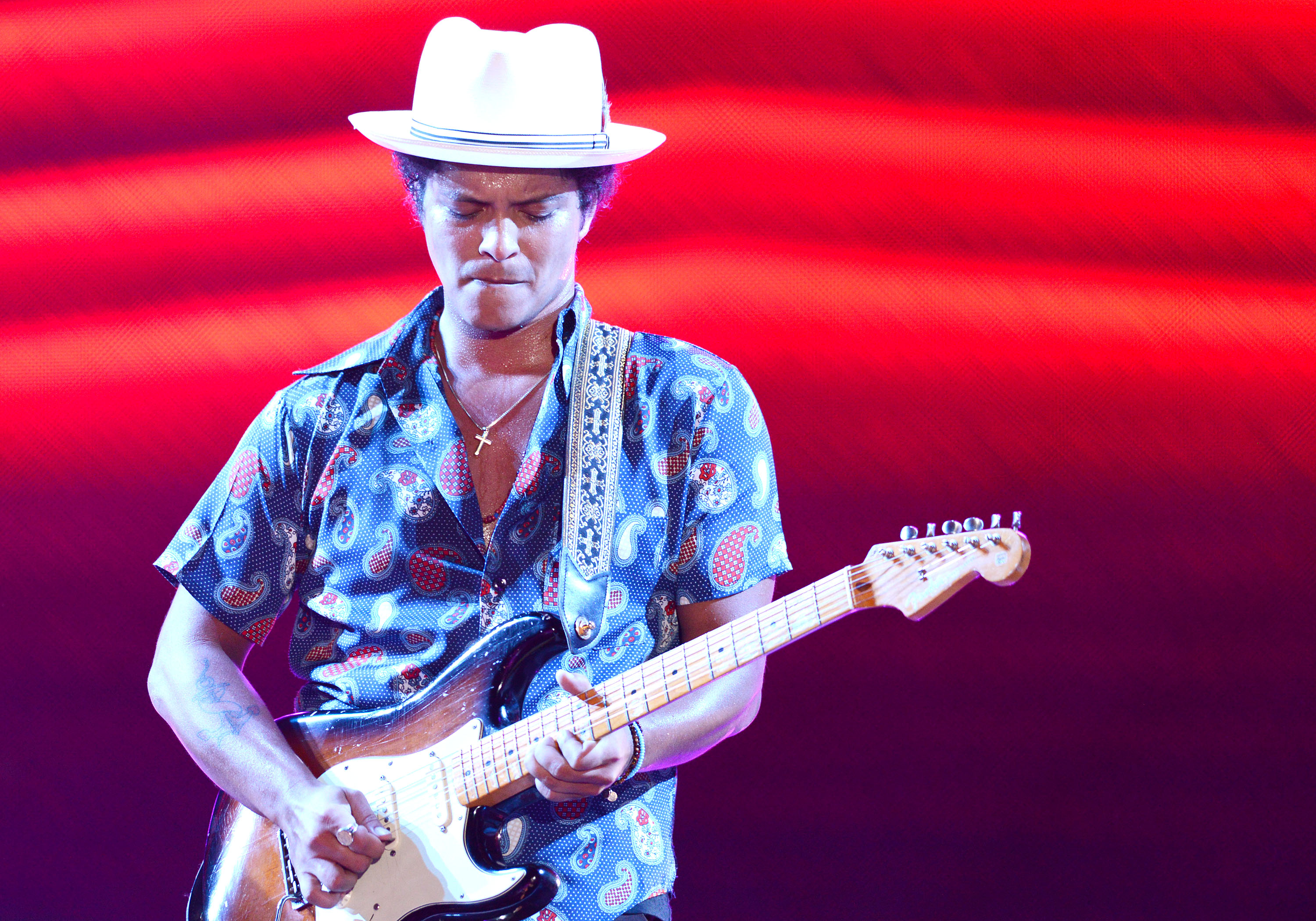 The UCSF Concert For Kids Featuring Bruno Mars
