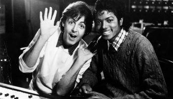 'Paul Mccartney And Michael Jackson'