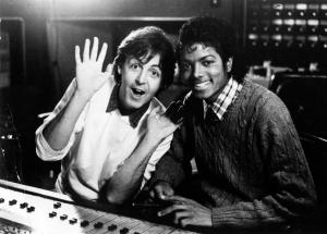 'Paul Mccartney And Michael Jackson'