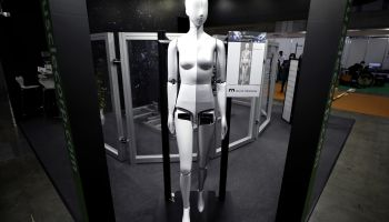 Inside The International Robot Exhibition