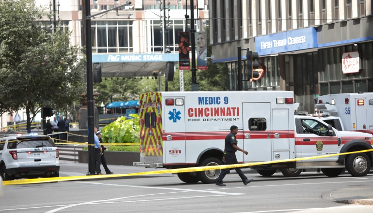 Shooter Opens Fire In Downtown Cincinnati, Four Dead Including The Gunman