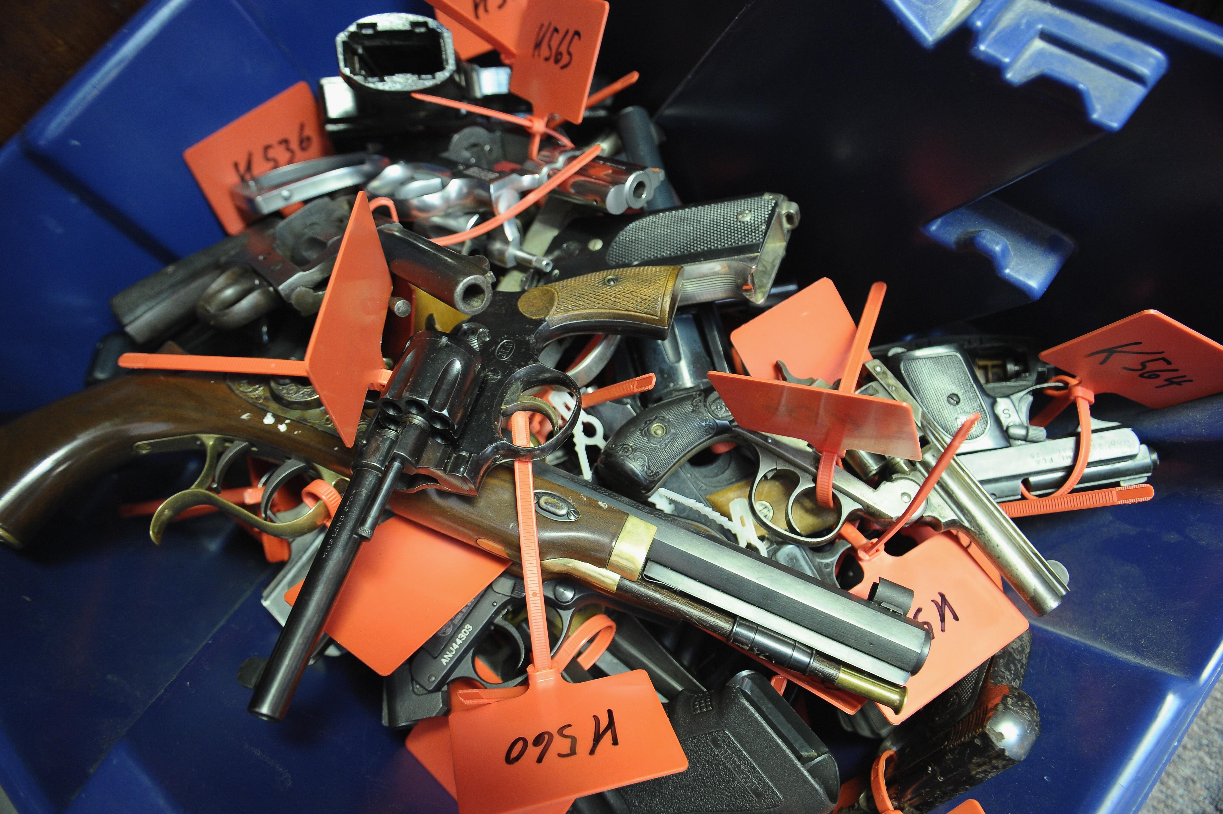 Gun Buy Program Held In New Jersey