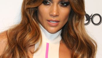 Jennifer Lopez Appears At PURE Nightclub