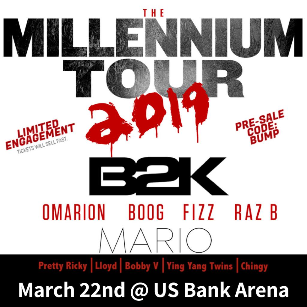 Millenium Tour 2019