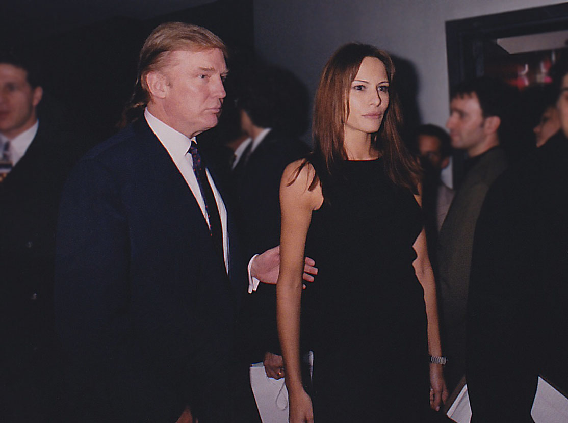 Donald Trump & Melania Knauss Trump at Playboy's 45th.