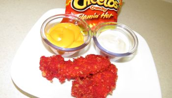 Flamin' Hot Cheetos Fried Chicken Recipe