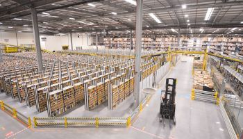 Inside the Amazon UK warehouse on Black Friday