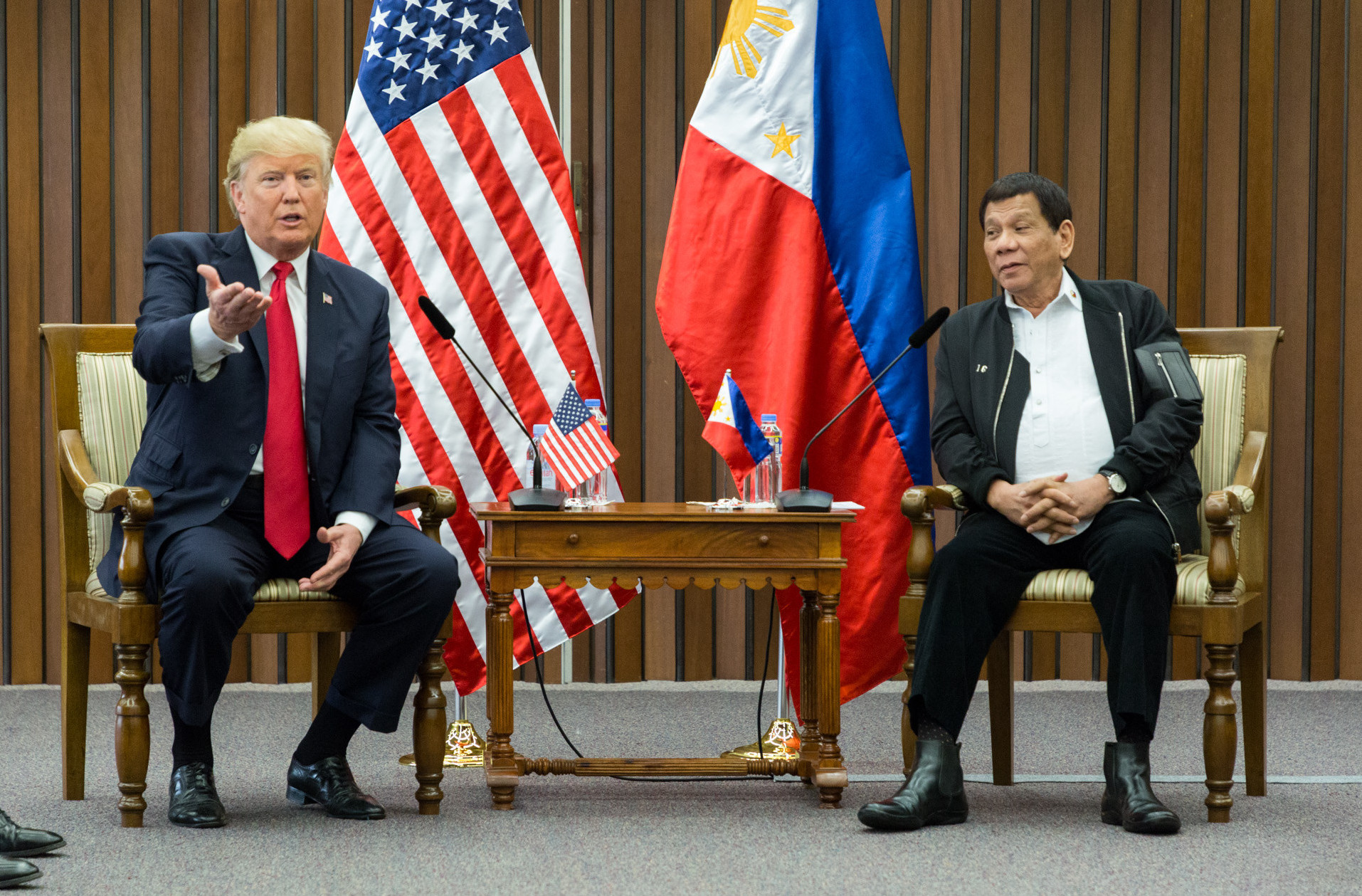 President Donald J. Trump visits the Philippines