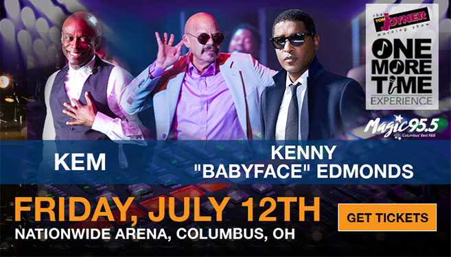 Tom Joyner One More Time Columbus Babyface Kem Graphic