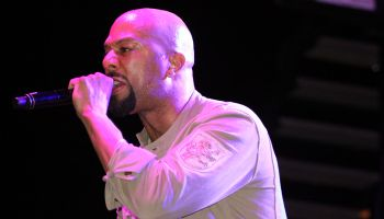 Common performs at the Neighborhood to Neighborhood Street Festival