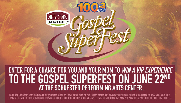 Gospel Superfest VIP Mom_RD Cincinnati WDBZ_April 2019
