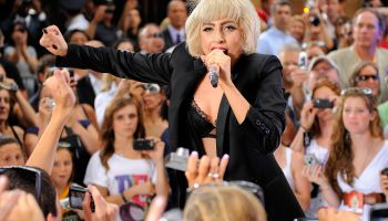 Lady Gaga Performs On NBC's 'Today' - July 9, 2010