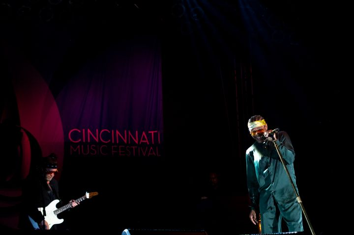 Maxwell at the 2019 Cincinnati Music Festival