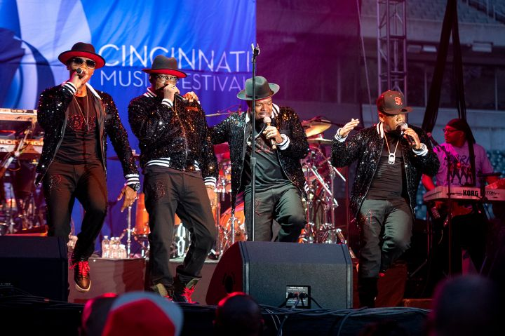 Ronnie Bobbie Ricky Mike at the 2019 Cincinnati Music Festival