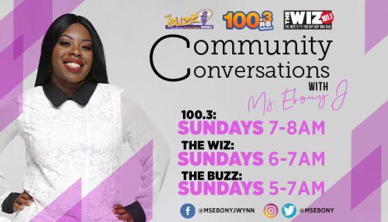 Community Conversations with Ms. Ebony J : Impact Change Now