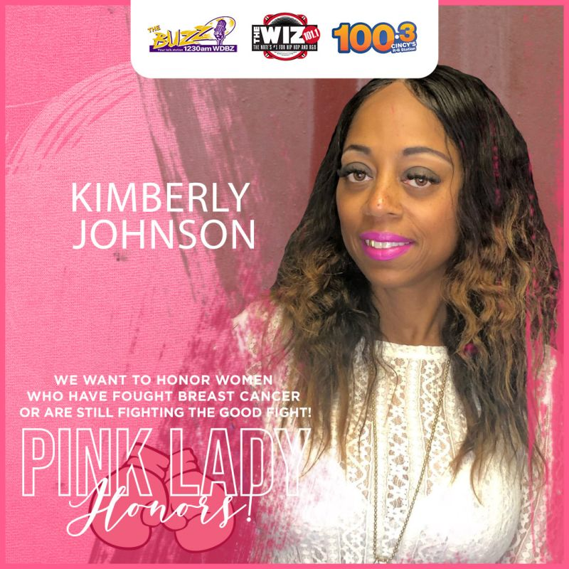 Pink Lady Honors Kimberly Johnson