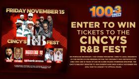 Cincy's R&B Fest Winning Weekend Graphics