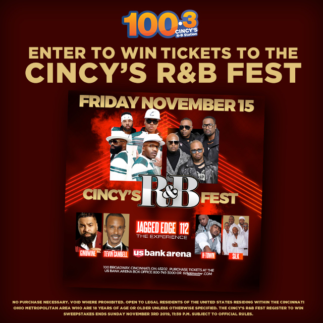 Cincy's R&B Fest Winning Weekend Graphics