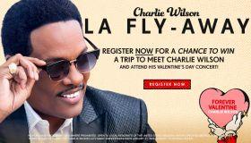 THE CHARLIE WILSON LOS ANGELES FLYAWAY SWEEPSTAKES