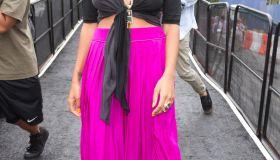 Seen Around Lincoln Center - Day 4 - Spring 2012 Mercedes-Benz Fashion Week