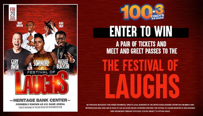 Festival of Laughs Contest WOSL_RD Cincinnati WOSL_February 2020