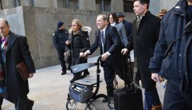 Harvey Weinstein at court appearance for...