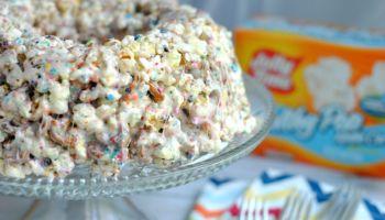 Sweet & Salty PopCorn Cake Recipe