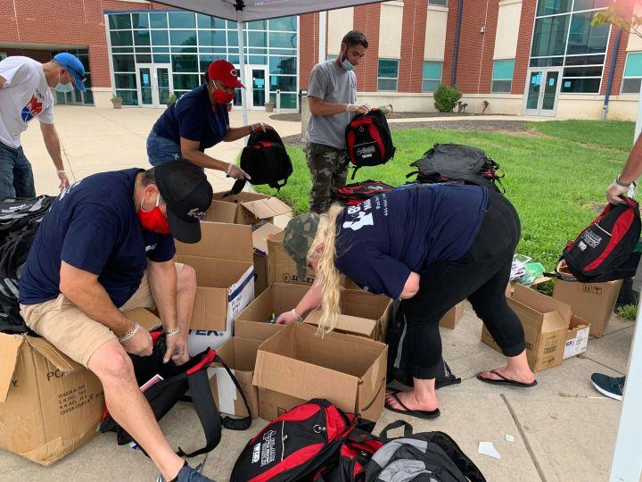 Radio One Cincinnati Backpack Pull-Up