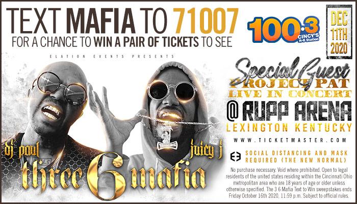 36 Mafia Text Contest Graphic